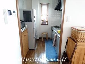 キッチン壁面の収納