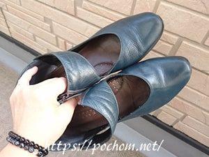 靴のお手入れ完了