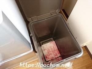 キッチンのゴミ袋の置き場所